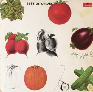 Cream ‎- Best Of Cream (LP) (G/G+)